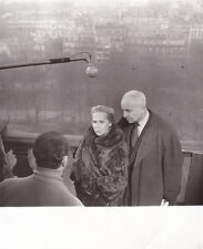 Louis Aragon Elsa Triolet Photo Raoul Saguet Original Vintage circa 1958