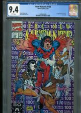 New Mutants #100  (First X-Force)  CGC 9.4  WP