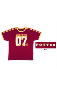 Universal Studio Harry Potter Gryffindor Jersey T-Shirt - Unisex Size L