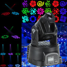 15W RGB Moving Head Light LED DMX DJ Pub jeux de lumière éclairage disco Stag