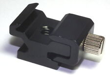 """Hot Shoe Flash Stand Adapter with 1/4""""-20 Tripod screw - SALE"""