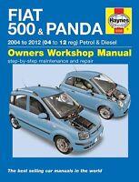 Haynes Fiat 500 & Fiat Panda 2004-2012 Manual 5558 NUEVO