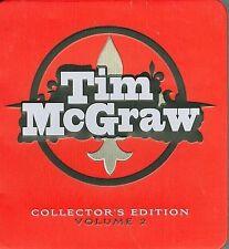 Tim McGraw Collector's Edition #2 [Box] by Tim McGraw (CD, Sep-2008, 3 Discs, C…