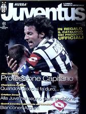 Hurrà Juventus 11 2001 Speciale Alex Del Piero Professione Capitano