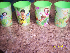 NEW Hallmark Disney Fairies 16 Fl. Oz Plastic Party Cups -7 Cups In Lot-