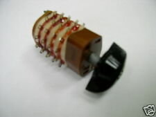 Hermetic Rotary Switch 2 pole 11 positions Nos Lot of 1