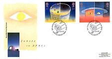 23 APRIL 1991 EUROPE IN SPACE ROYAL MAIL FIRST DAY COVER FIRST MAN IN SPACE SHS