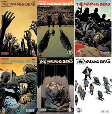 THE WALKING DEAD Conquered (6) Comic Run #163 164 165 166 167 168 Set 1st print
