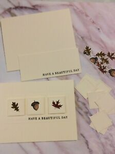 Stampin up! Have A Beautiful Day Card Kit-Set of 4 With Envelopes