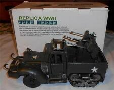 Leapers Inc. Replica WWII Half Track Tin Model with Box
