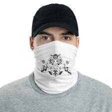 White Tiger Neck Gaiter Face Covering Mask
