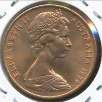 Australia, 1979 Two Cent, 2c, Elizabeth II - Uncirculated