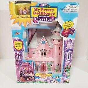 NEW My Pretty Dollhouse Enchanted Castles Wishing Well Castle Vintage 1995 NIB