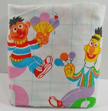Sesame Street Twin Flat Sheet Number Bert Ernie Cookie Monster Fabric Crafts USA
