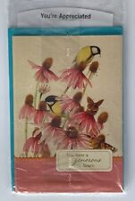 New Pack of 4 Marjolein Bastin Nature's Sketchbook Greeting Cards - Appreciated
