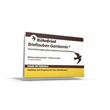 Röhnfried Gambamix 60 Tabletten (gegen gelben Knopf - geeignet für Tauben)
