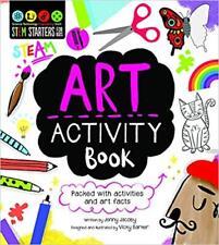 Art Activity Book (Stem Starters for Kids) NEW Paperback Childrens Book