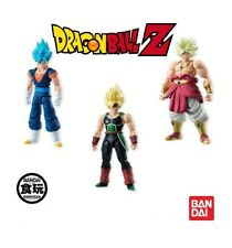 BANDAI Dragon Ball z Shodo Satz 3 Figuren Broly Vegetto Bardock