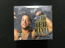 WWF CCG Raw Deal Mania Booster Box - Factory Sealed