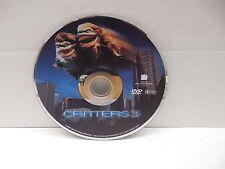Critters 3 DVD Leonardo DiCaprio Movie Debut NO CASE Tenemant Building Monsters