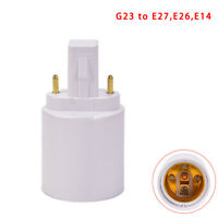 G23 To E27 E26 Base Socket LED Halogen Light Bulb Lamp Adapter Holder ConvertSL