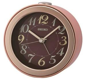 Seiko Bedside Beep Sound Alarm Clock QHE172P