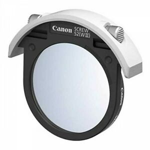 Canon FILTER52DSFW3 52mm Drop-in Screw Filter Holder WIII Japan with Tracking