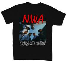 NWA STRAIGHT OUTTA COMPTON Mens Black Rap T-SHIRT  NEW  S M L XL 2XL 3XL 4XL 5XL