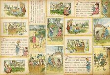 Rice paper 48х33 cm.BOOK. Decoupage. scrapbooking. crafts. STAMPERIA