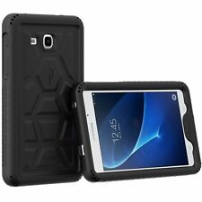Case For Samsung Galaxy Tab A 7.0 Poetic【TurtleSkin】Heavy Duty Silicone Black
