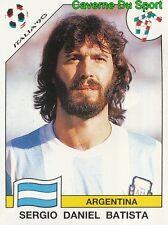124 SERGIO DANIEL BATISTA ARGENTINA FIGURINE STICKER WORLD CUP ITALIA 90 PANINI