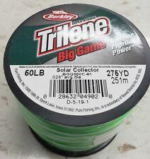 Berkley Trilene Big Game Mono filament Fishing Line Solar Collector 50LB/275YD