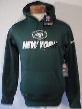 NWT Nike New York Jets Mens KO Sideline Performance Hoodie S Green MSRP$80