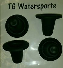 TGW Universal Kayak Scupper Plug 4 Pack. UV Protected, Lightweight low profile.
