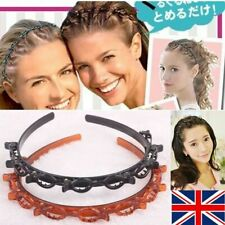 UK Womens Double Bangs Hairstyle Hairpin Hair Clip Accessories
