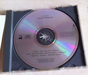 Joy Division – Unknown Pleasures CD /Factory – FACD 10 + Live Extras!