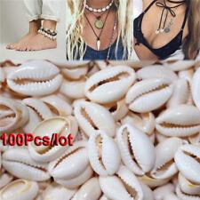 100X Bulk Cut Sea Shell Cowrie Cowry Slice shells Beach DIY Jewelry 1.6-2cm Lot