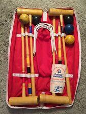 Eddie Bauer Croquet Set In A Bag