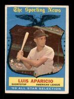 1959 Topps Set Break # 560 Luis Apricio All Star GD *OBGcards*