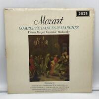 Decca SXL 6198 WBG BOSKOVSKY - Mozart Complete Dances and Marches Vol.5 / NM