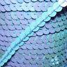 Paillettenband 6mm FARBWAHL * 5m lose * Paillettenborte (0,30€/lfd Meter) Pailet