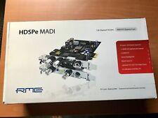 RME HDSPe MADI 128-Channel PCI-e Digital Recording Interface