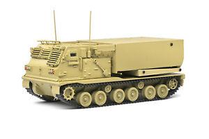 Solido 1:48 US M270 Multiple Launch Rocket System (MLRS) - Desert Camo #S4800602