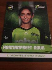 Sydney Thunder 2016 Season Cricket Trading Cards