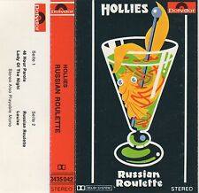 RUSSIAN ROULETTE The Hollies 4 Track MC Tape MUSIKKASSETTE 1976 Polydor 3435 042