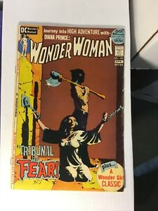 Wonder Woman 199 Fine/Fine -Bondage Cover White pages clean read description