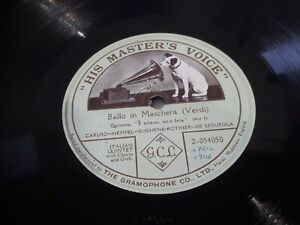 Italian Quintet Ballo In Maschera 12 Inch One Sided 78 Record Can Do...