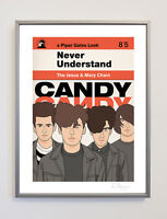 The Jesus And Mary Chain Ltd Ed 30cm x 40cm Poster Indie Shoegaze Goth