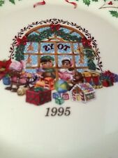 Lenox Annual Limited Edition Collector'S Plate; 1995