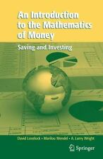 An Introduction to the Mathematics of Money: Saving and Investing Texts in Appl